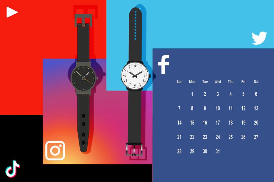 Mejores Horas y Días para publicar en Redes Sociales